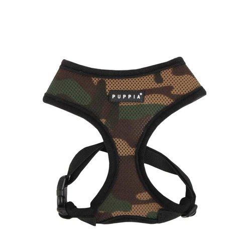 Puppia Soft Harness Camo