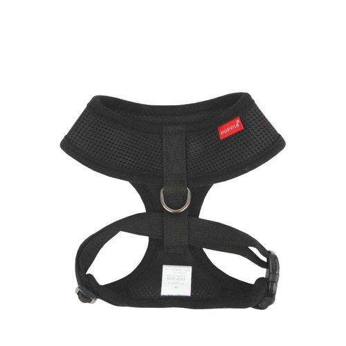 Puppia Soft Harness Black