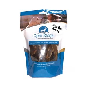 Open Range Pig Ear Slices 125g