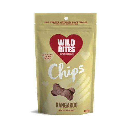 Wild Bites Kangaroo Chips 120g
