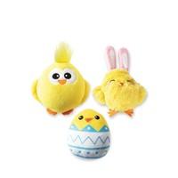 Chicks Plush Dog Toy