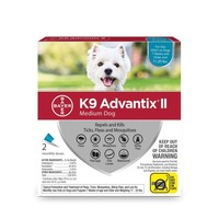 K9 Advantix II For Dogs 2 Doses