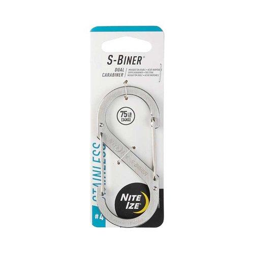 Niteize S-Biner Carabiner Silver #4