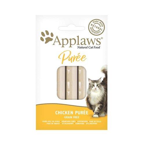 Applaws Chicken Puree Cat Treat 8x7g