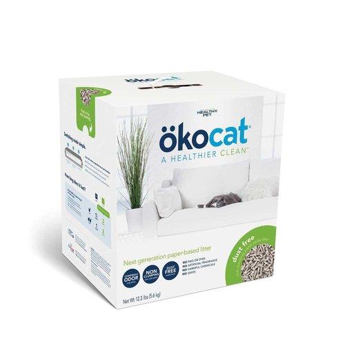 oko cat Natural Paper Litter Dust Free 12.3lb
