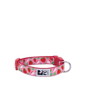 RC Pets Clip Collar Strawberries