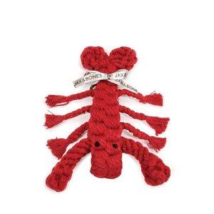 Jax & Bones Rope Toy Louie the Lobster