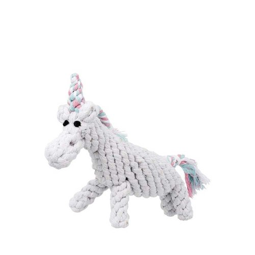 Jax & Bones Rope Unicorn Toy