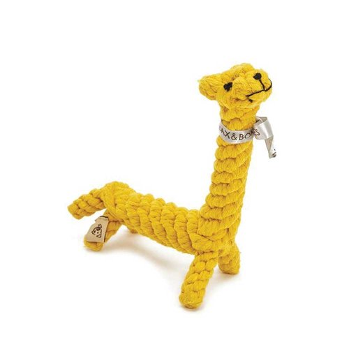 Jax & Bones Rope Toy Jerry the Giraffe