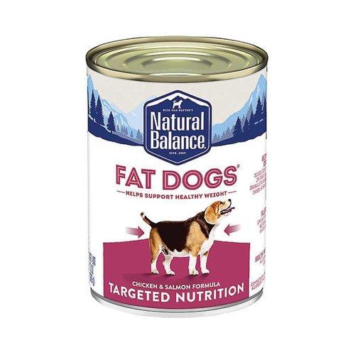 Natural Balance Dog Fat Dogs 13oz
