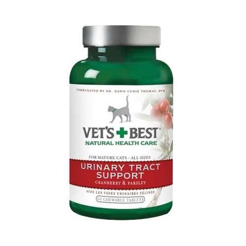 Vets Best Cat Urinary Tract Support Tabs 60 Tab