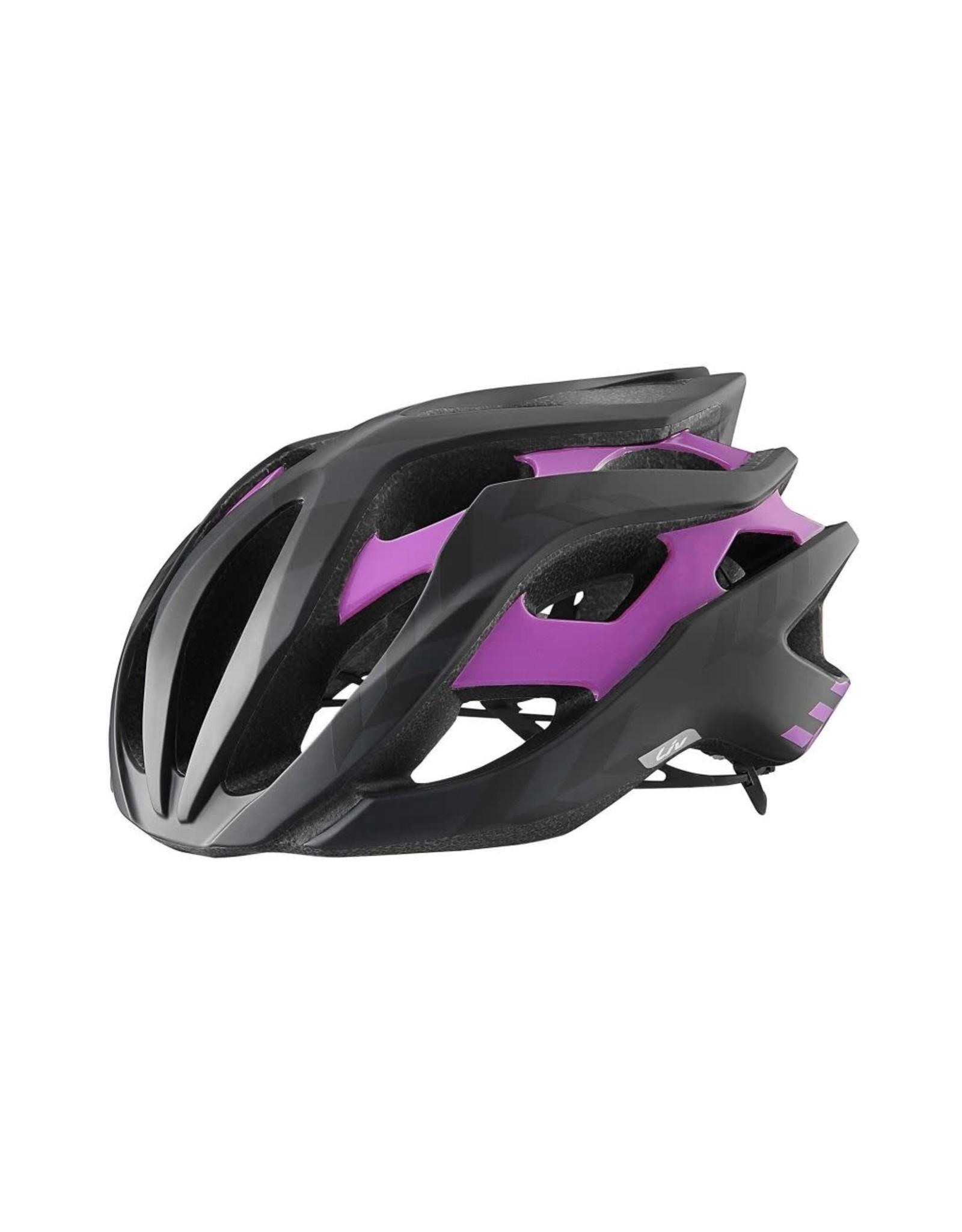 LIV Liv Rev Helmet Black/Purple M