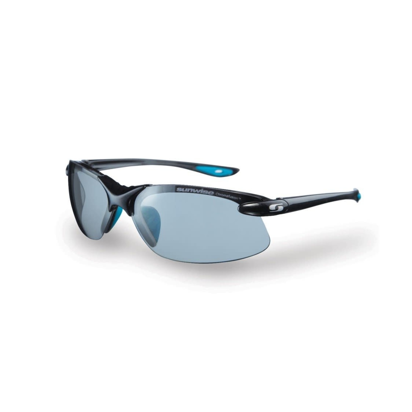 Sunwise Waterloo Chrome Sunglasses Black