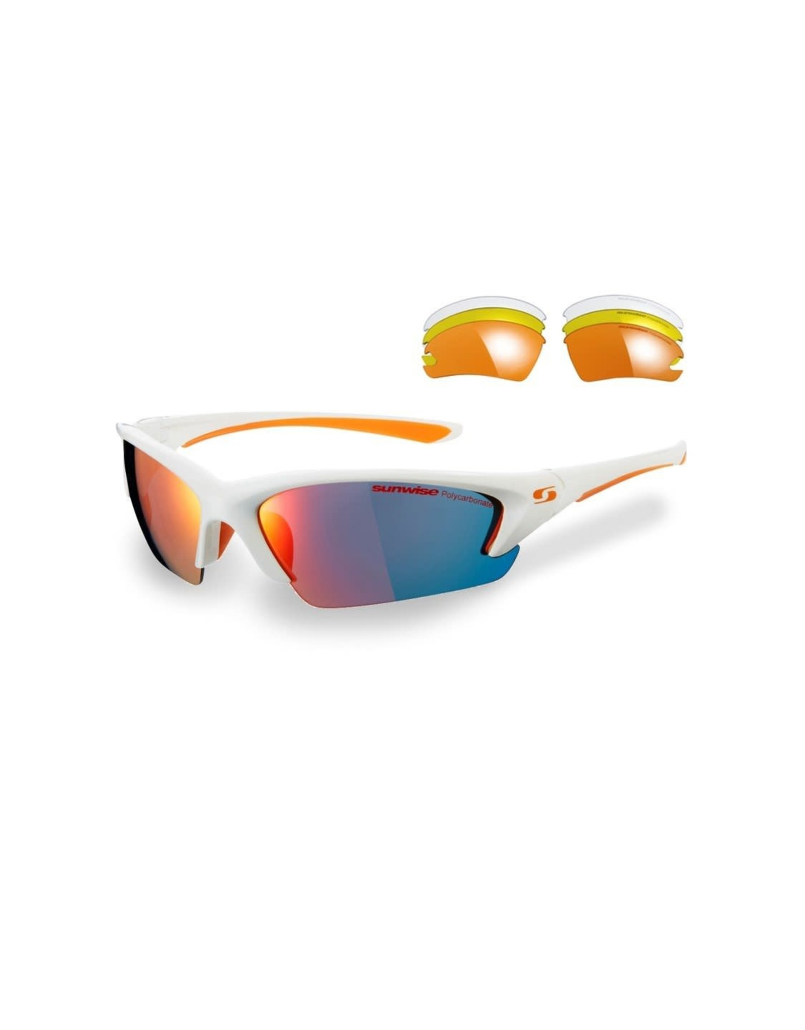 Sunwise Equinox RM Sunglasses White/Orange