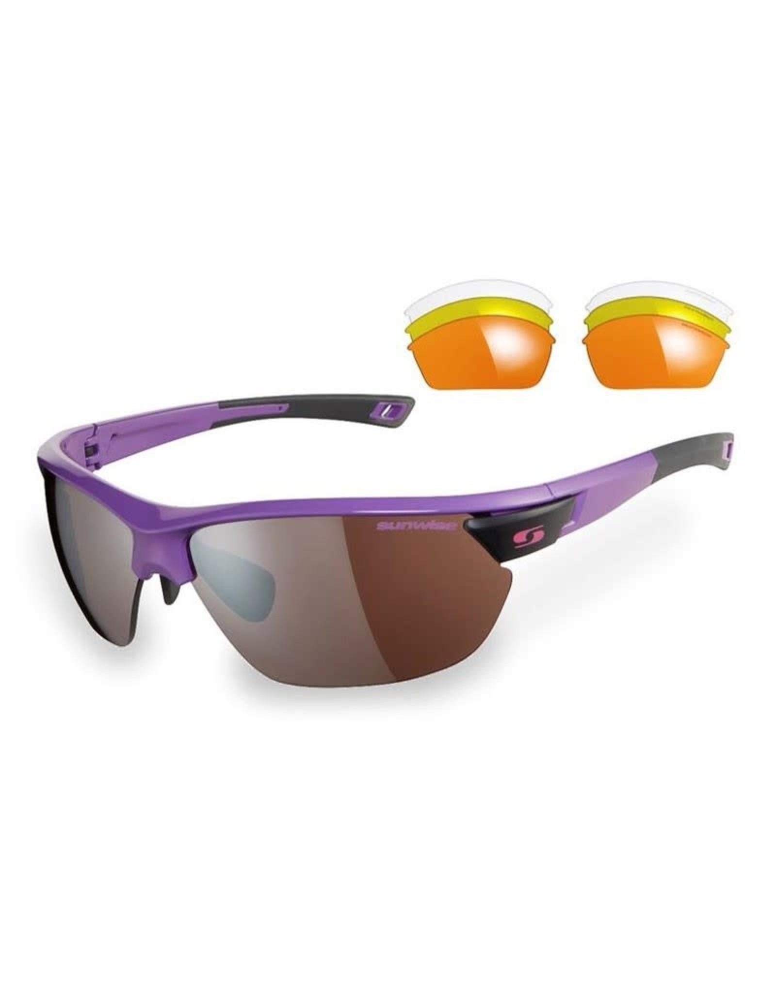 Sunwise Kennington Sunglasses Purple