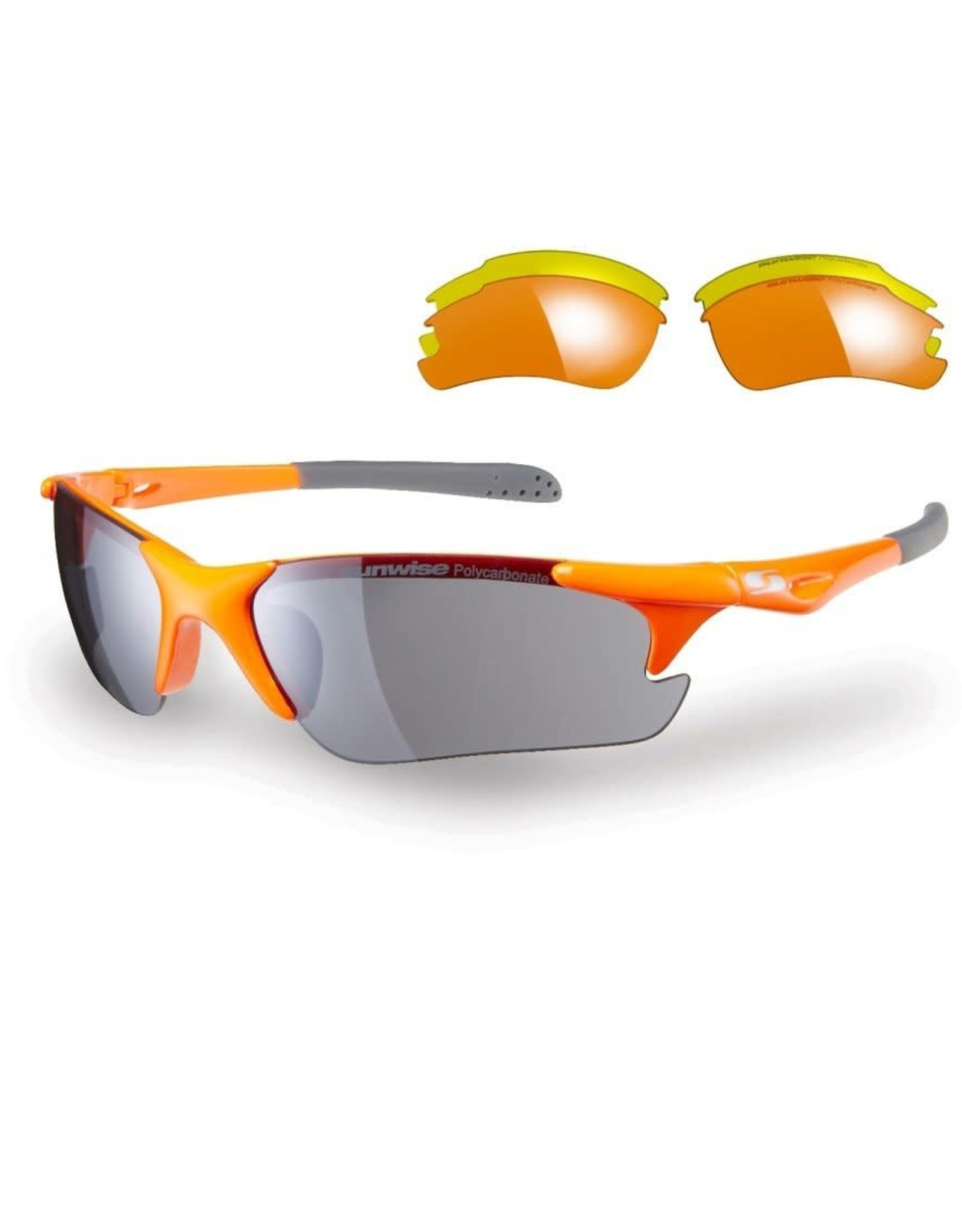 Sunwise Twister Sunglasses Orange