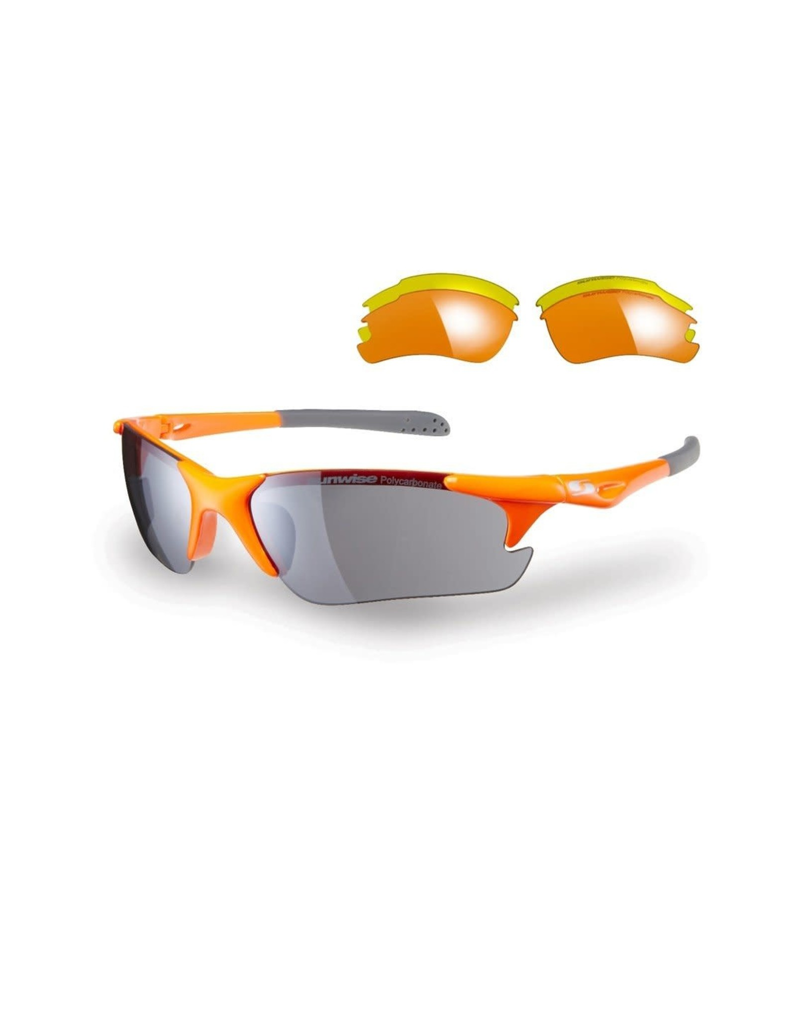 Sunwise Twister Sunglasses Orange