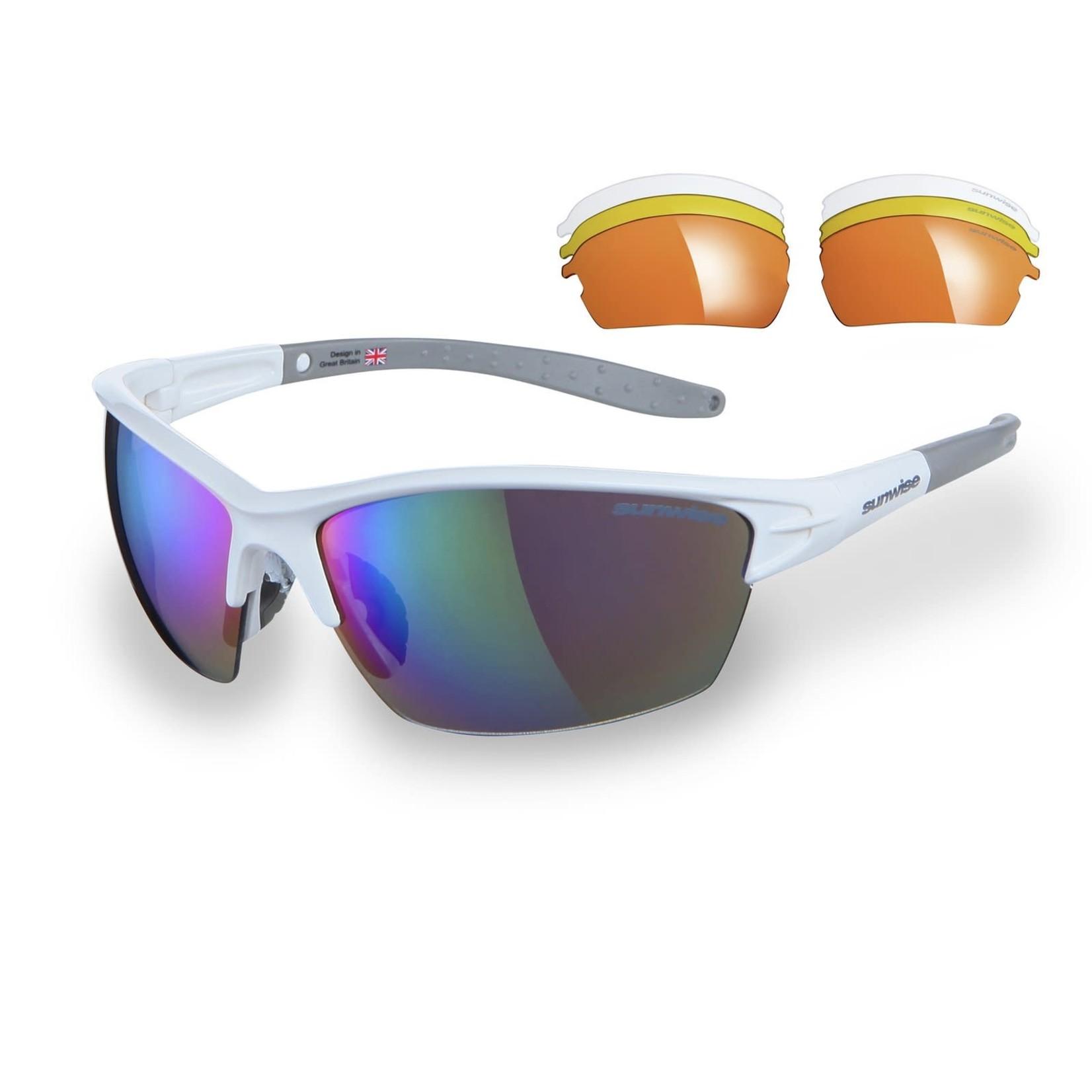 Sunwise Montreal Sunglasses White
