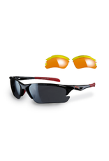 Sunwise Twister Sunglasses Black/Red