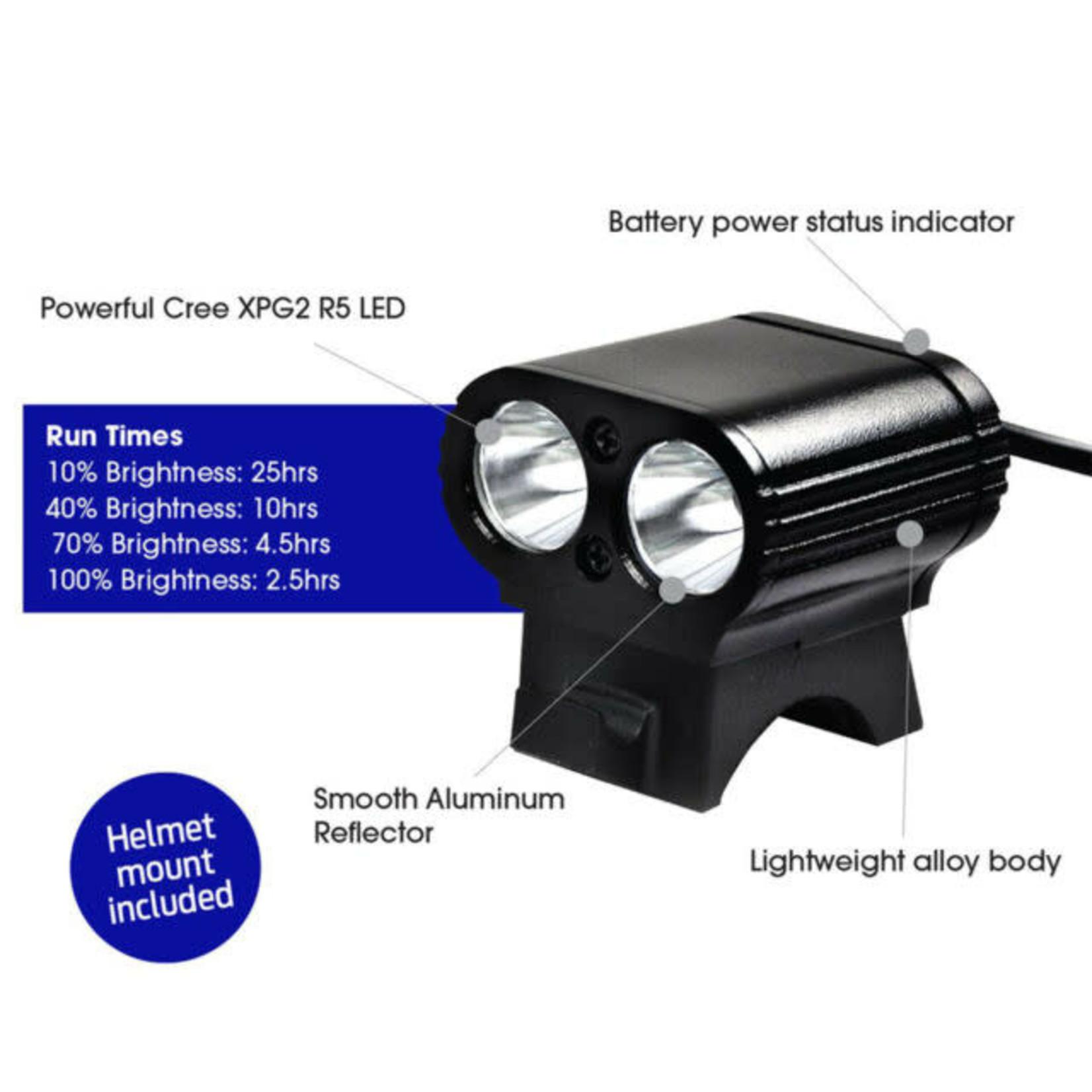 Azur Dual Mini USB 800Lm Front Light