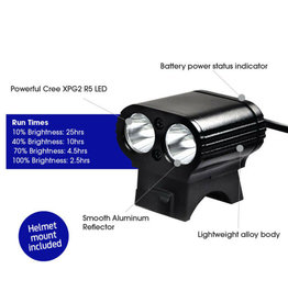 Azur Dual Mini USB 800L Front Light