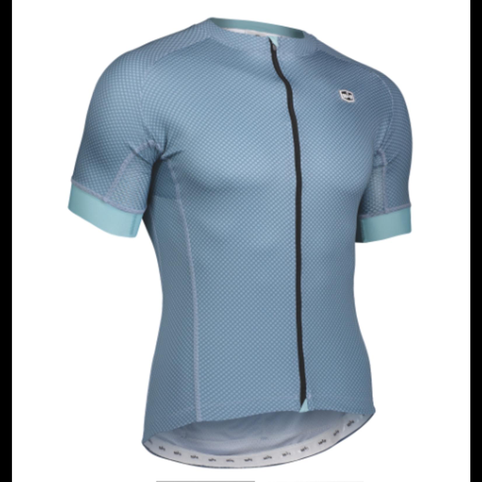 SOLO Solo Omni MK3 Mens Cycling Jersey Grey Blue