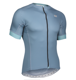 SOLO Solo Omni MK3 Mens Cycling Jersey Grey Blue