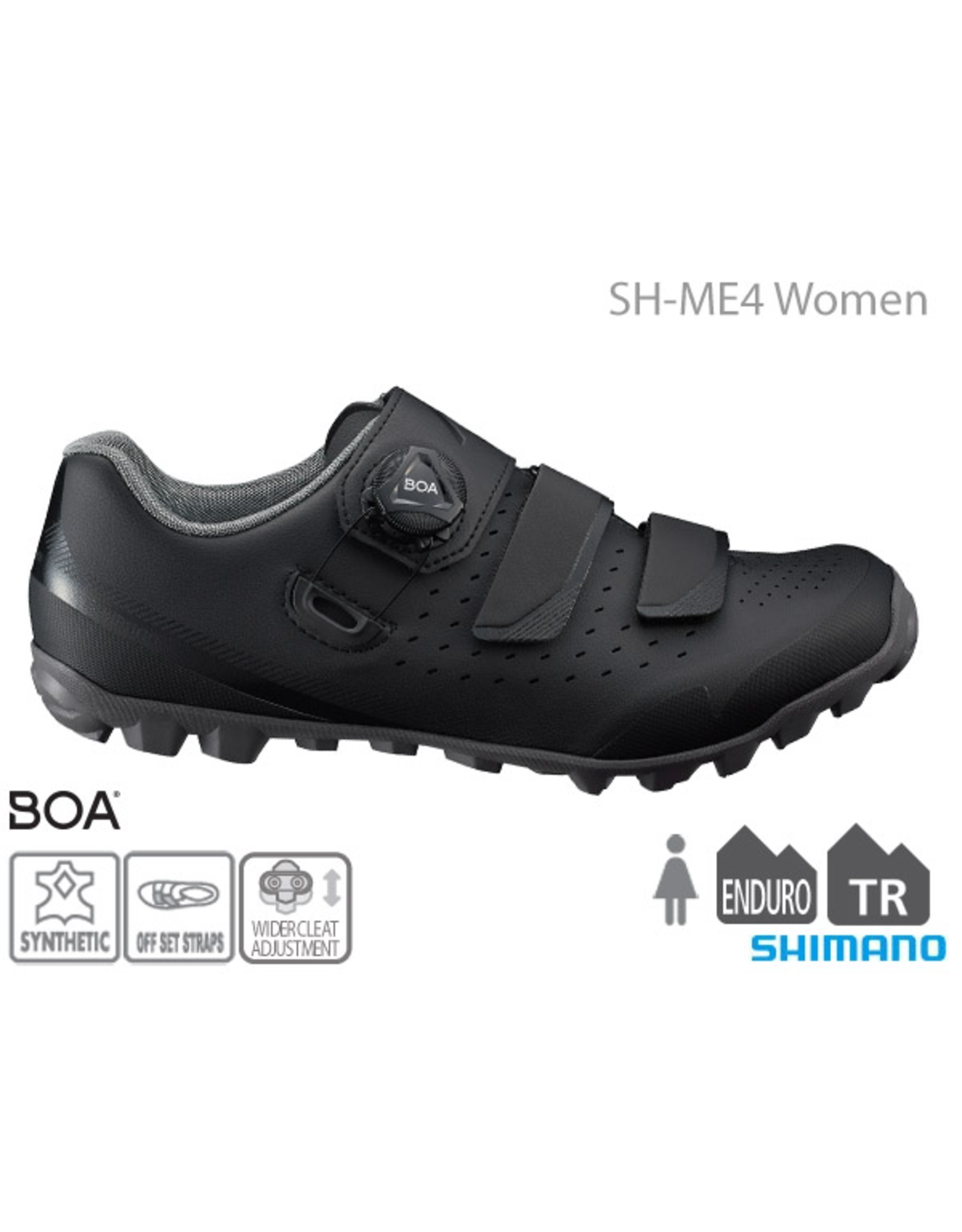 Shimano ME4 Womans MTB Shoe Black 40
