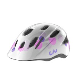 LIV Giant Liv Musa White/Pink/Purple Youth Helmet