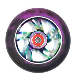 Bulletproof 110mm Scooter Wheel Oil Slick