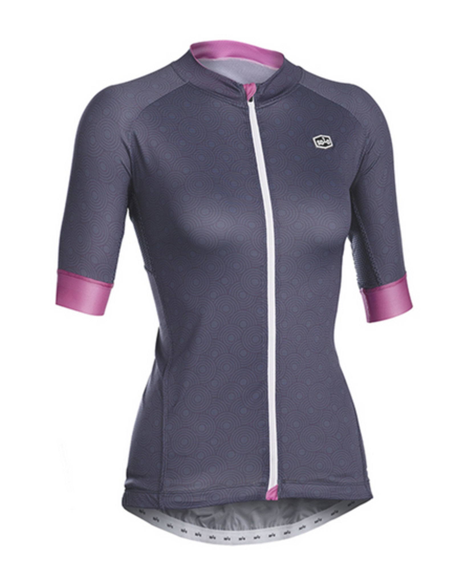 SOLO Solo Omni Woman Cycling Jersey Grey/Pink