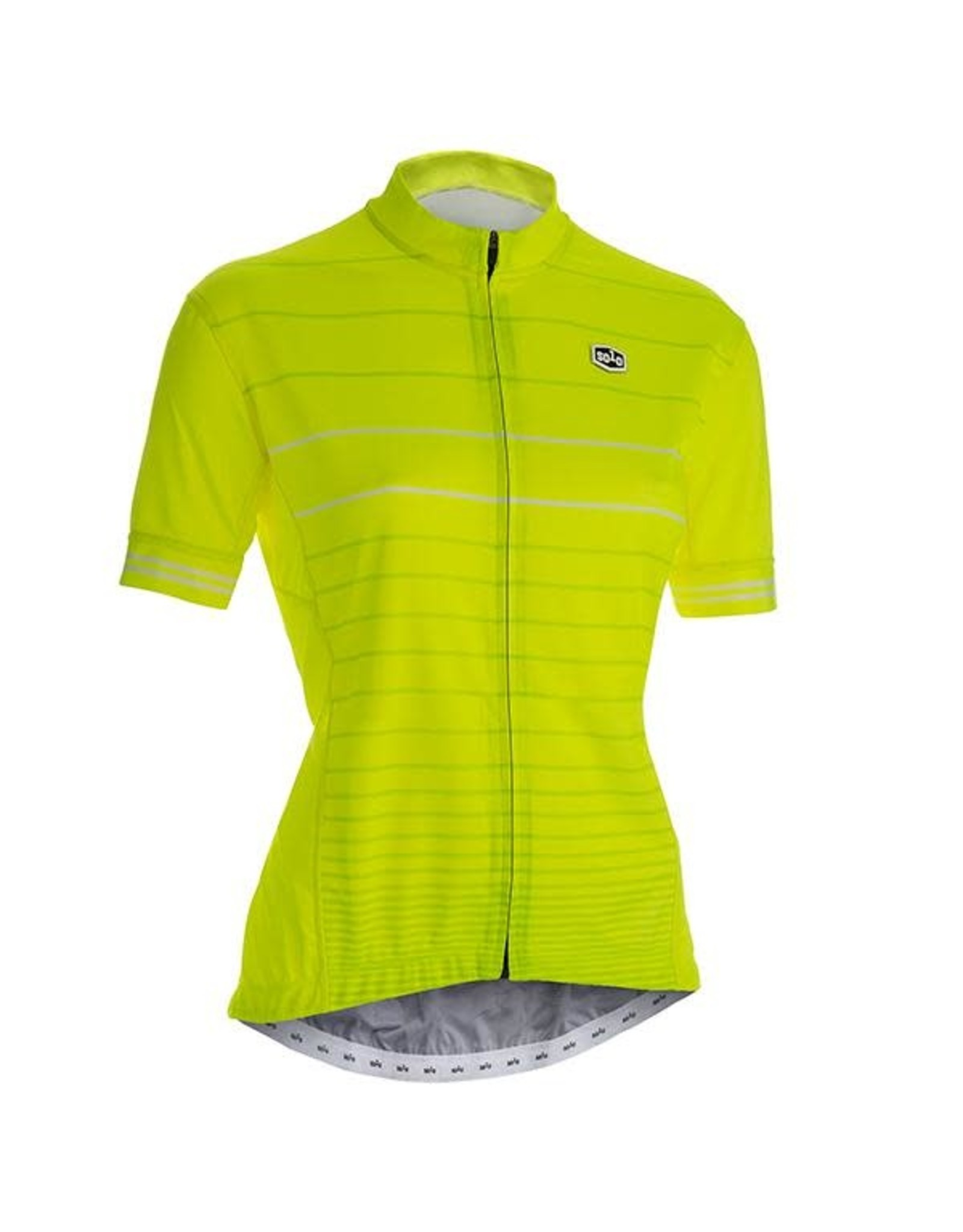 SOLO Solo Duo MK2 Woman Cycling Jersey Yellow