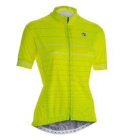 SOLO Solo Duo MK2 Woman Cycling Jersey Yellow