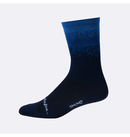 Pedal Mafia Artist Series Cycling Sock Blue Fade