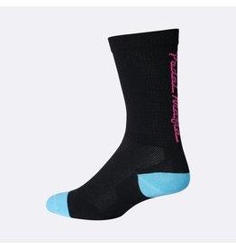 Pedal Mafia Tech Cycling Sock Black/Pink S/M