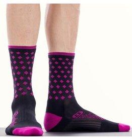 Bellwether Pinnacle Cycling Sock Fuchsia S/M
