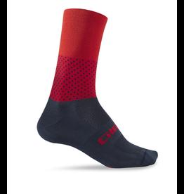 Giro Highrise Cycling Sock Blue/Red