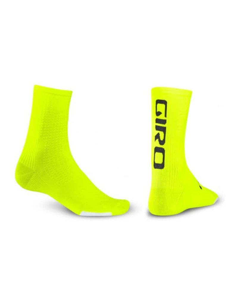 Giro HRC Cycling Sock Neon Yellow