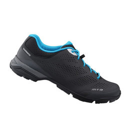 Shimano MT301 Mens MTB Shoe Black/Blue 44