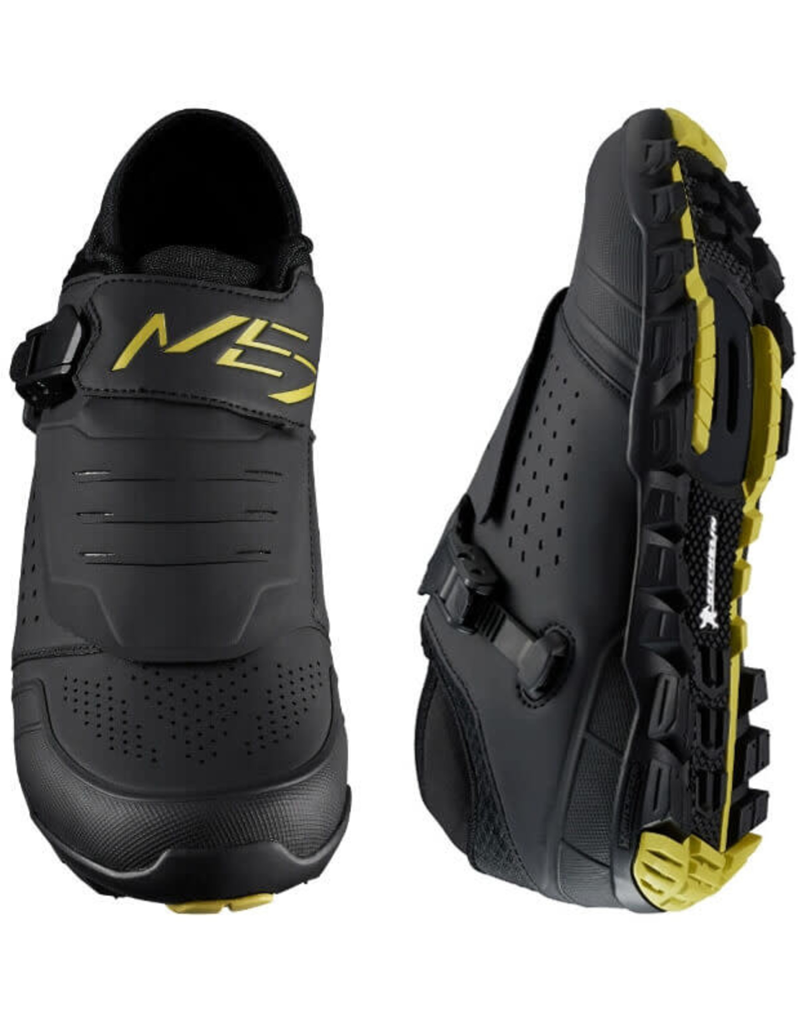 Shimano ME701 Mens MTB Shoe Black/Yellow 43