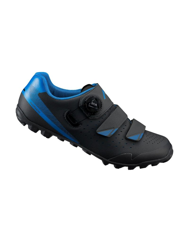 Shimano ME4 Mens MTB Shoe Black/Blue 44