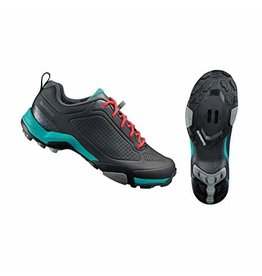 Shimano MT300 Womans MTB Shoe Black/Green