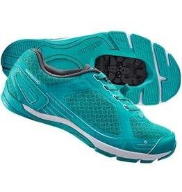 Shimano CW41 Womans MTB Shoe Green 40