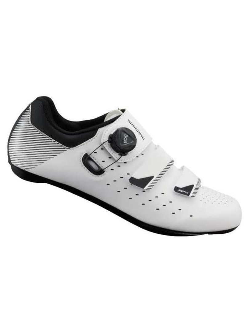 Shimano RP400 Mens Road Shoe White 44