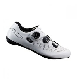 Shimano RC701 Mens Road Shoe White 44