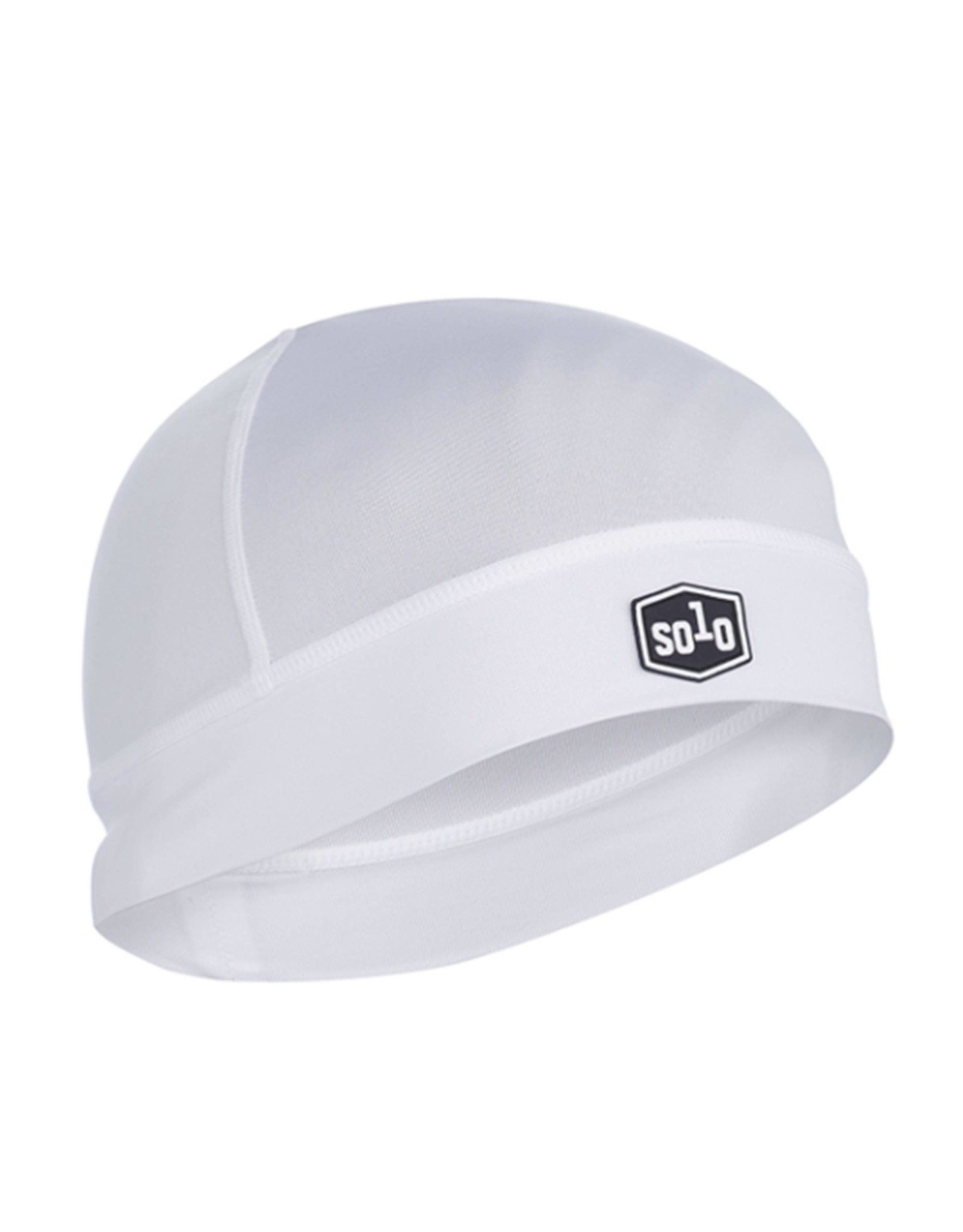 SOLO Solo Icefil Cycling Beanie White