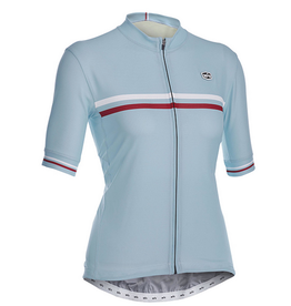 SOLO Solo Duo Woman Cycling Jersey Blue