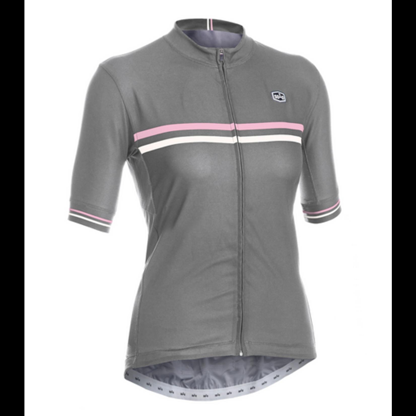 SOLO Solo Duo Woman Cycling Jersey Grey