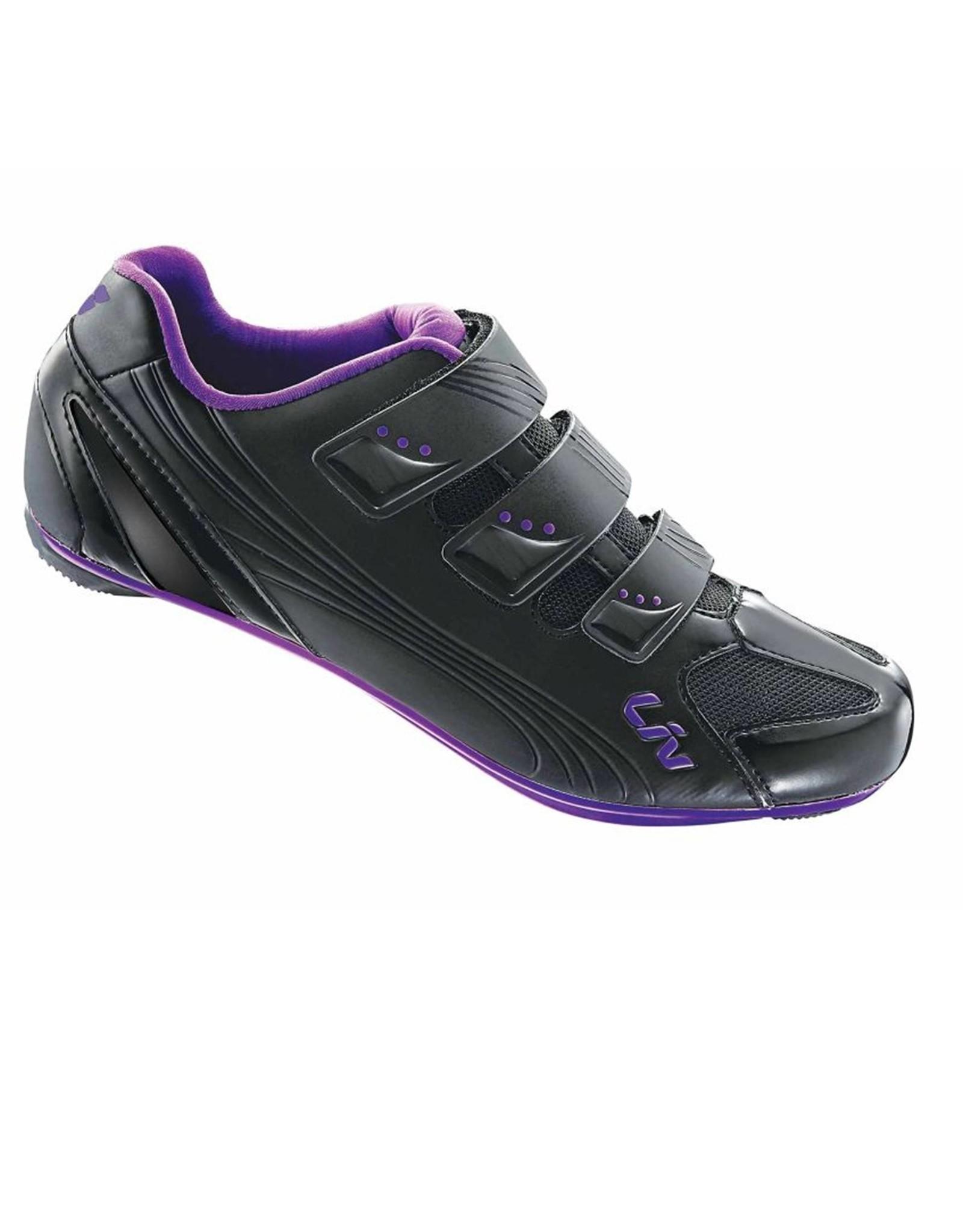 LIV LIV Regalo Womans Road Shoe Black