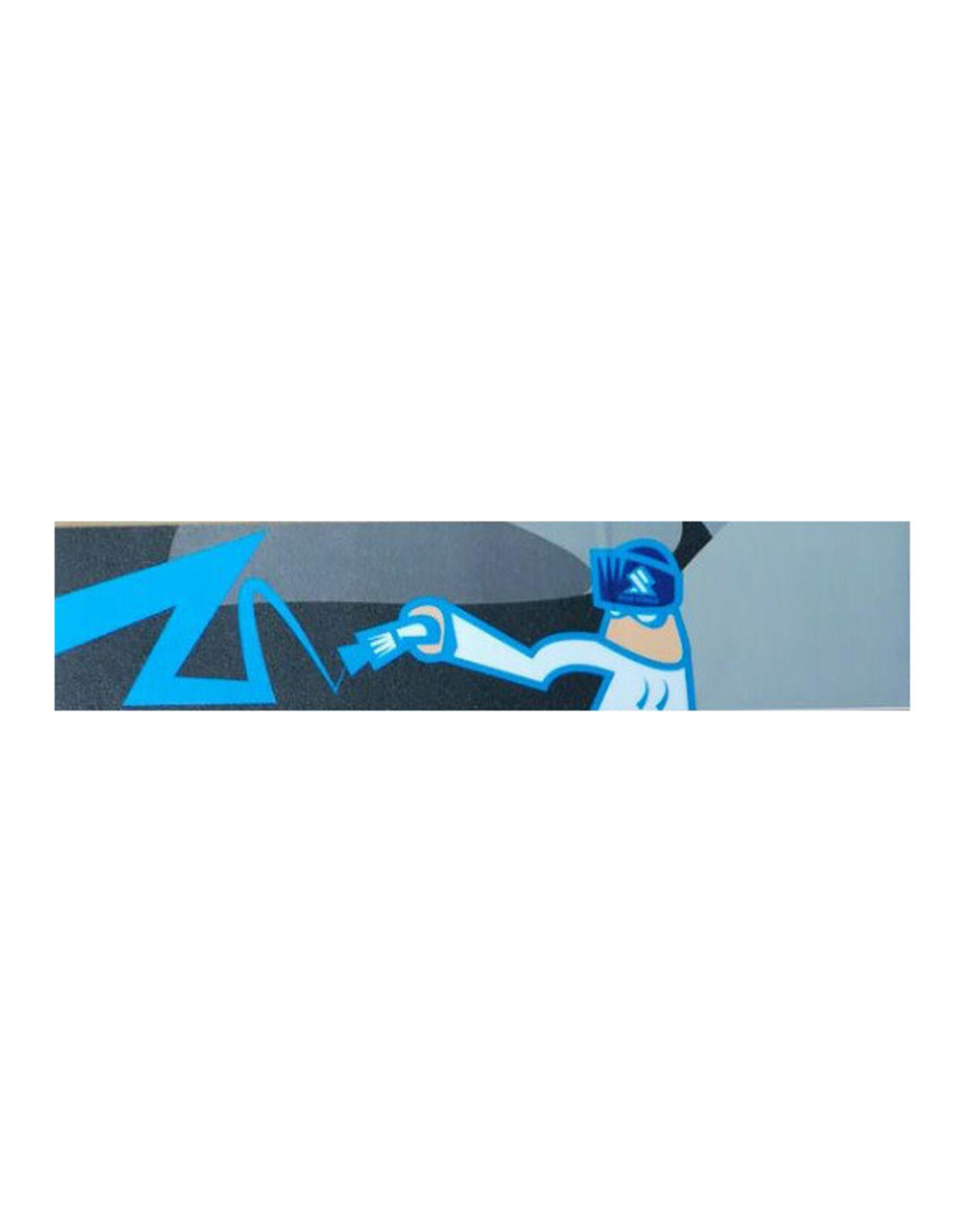 Blue Man Scooter Grip Tape